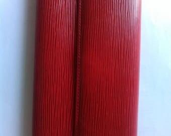 Louis Vuitton Long Wallet, Epi Red