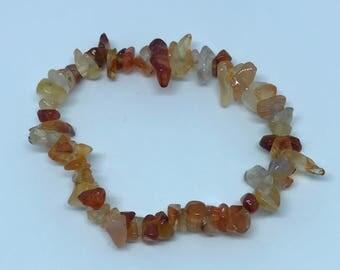 Carnelian Bracelet ( small tumblestones )
