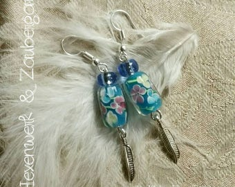 "Earrings ""Sylphs' magic"""