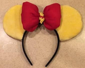 Winnie the Pooh Bear Mickey Mouse Ears
