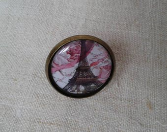 "ring ""Eiffel Tower under the flowers"""