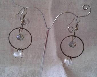 """Earrings """"pretty bead Trapeze"""""""