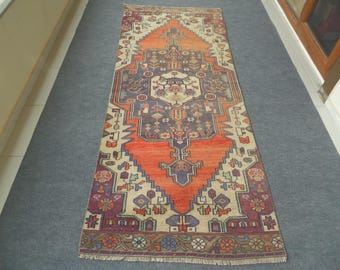 Vintage Oushak Rug, Oushak Rug, Pastel Rug, Vintage Rug, Woven Rug, Anatolian Rug, Handmade Rug, Rugs