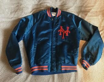 NY Mets satin Chalk Line jacket