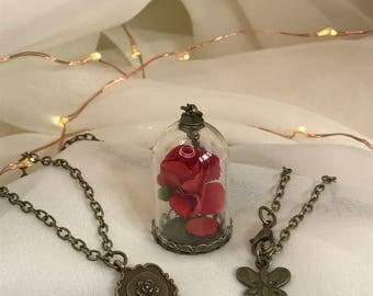 Mini pink chain