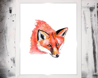 ACRYLIC / WATERCOLOUR PAINTING: Original Various Animal Prints