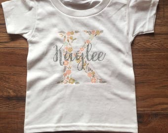 Infant/Toddler Initial Shirt