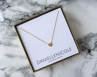 Dainty Horseshoe Necklace, Dainty Necklace, Pendant Necklace, Simple Necklace, Everyday Jewelry, Layering Necklace, Boho Jewelry, Boho Chic