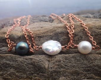 Pearl necklace | Bridesmaids gift