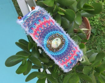 Colorful, Bohemian Cuff Bracelet