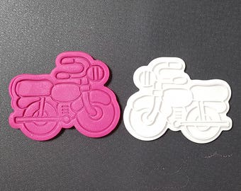 Bike Cookie Cutter and Stamp