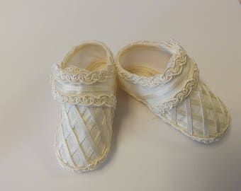 Baby shoes for christening, baby Baptism Shoes