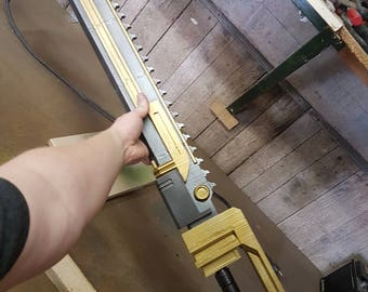 Chainsword Replica 3DFW Pattern | Warhammer 40K inspired | Life Sized | Unofficial