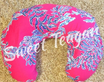 Lilly Nursery / Boppy Pillow Cover / Nursing Pillow Cover / Lilly Inspired