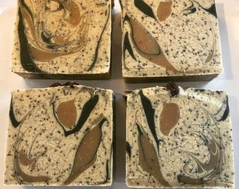 Coffee Soap   Handmade Old Fashioned Cold Process Vegan Soap