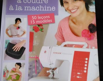 "Book & patterns ""learn to sew by machine"". brand new"