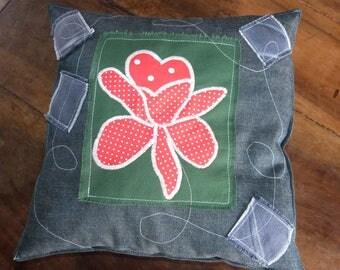 """A pretty pillow """"Orchidée"""""""