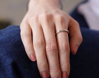 Skinny sterling ring, unique dainty ring, thin dainty ring, minimalist rings, silver stacking ring, minimalist jewelry, everyday ring