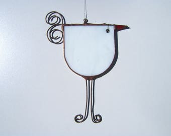 Birds, stained, technical glass tiffany - stained glass bird
