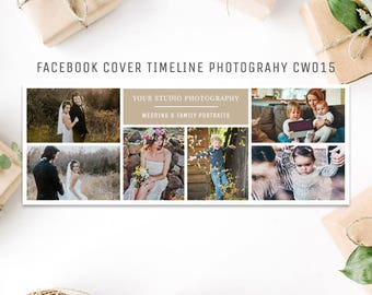 Facebook Timeline Cover Template Photography CW015