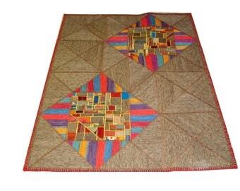 Persian Patchwork Kilim Rug PRH110, 150x199
