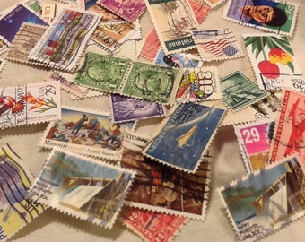 50 postage stamps