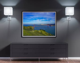 Metal Print - Golden Gate Bridge