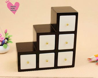 Dolls House Miniature Storage Unit