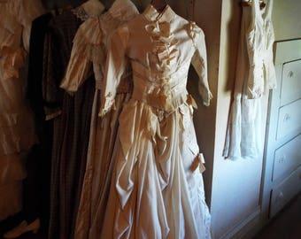 Lovely Old Dresses - Digitally Enhanced 8x10 Photo Print