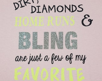 Dirt Diamonds Homeruns Softball/Love Softball