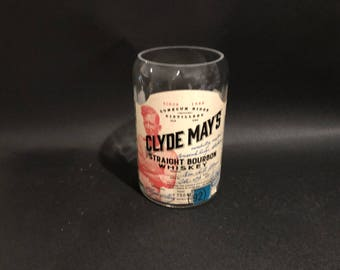 750ML Clyde Mays Candle Straight Bourbon Whiskey Alabama Whiskey Bottle Soy Candle. Made To Order 750ML