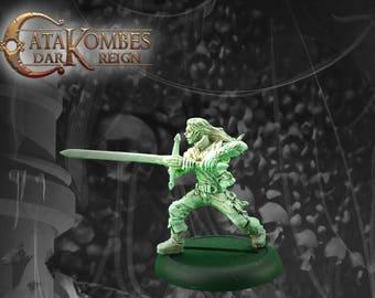 Figurine héros : Gerulf l'éradicateur