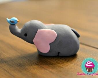 Elephant Cake Topper 2