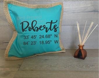 Custom Pillow Cover, Throw Pillow Case, Decorative Pillow Case, Personalized Pillow Case Housewarming gift, Custom Made Pillow Case,