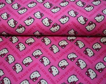 Kids fabrics hello kittie