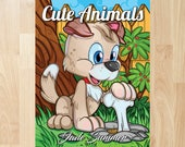 Cute Animals by Jade Summer (Coloring Books, Coloring Pages, Adult Coloring Books, Adult Coloring Pages, Coloring Books for Adults)