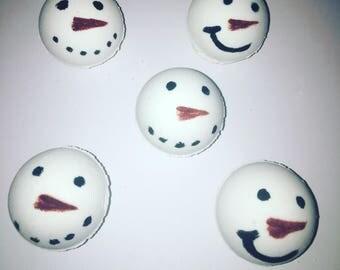 Snowmen bath bombs/ Christmas bath bombs/ holiday bath bombs/ bath bombs/ winter bath bombs/ art bath bombs/ natural bath bombs/ kids