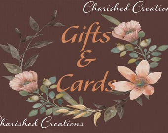 Gifts and Cards Wedding Sign, Brown Gifts and Cards Sign *INSTANT DOWNLOAD*