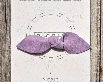 Barrette for girls chic OWL - The little purple bow