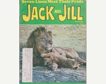 Summer Sale Jack and Jill Magazine March 1974