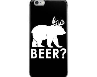 Beer Funny iPhone Case - Iphone 7 case - Iphone 8 case - Iphone 7 plus case - Iphone 6 case - Iphone X case
