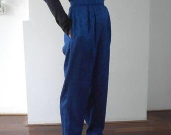 Vintage Vera Mont festive 80 's pants