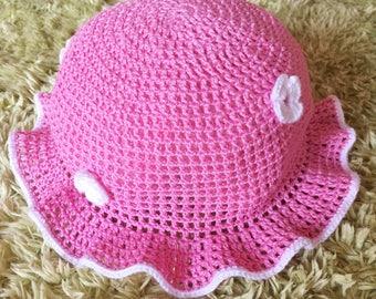 Summer hat for girl