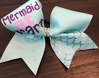Mermaid at Heart Cheer Bow