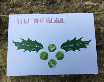 HOLLY & SPROUTS // Christmas Card