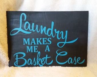 Laundry Makes Me a Basket Case