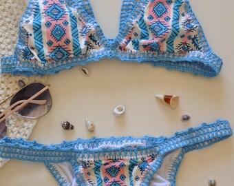 bikini handmade crochet