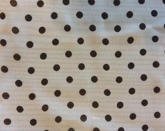 Girls Chiffon Ballet Wrap Skirt - Polka Dots