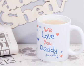 Personalised 'I Love You' Mug