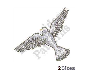 Dove Of Peace - Machine Embroidery Design